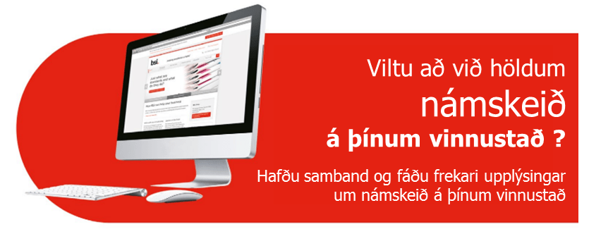 Námskeið á þínum vinnustað