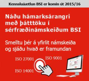 BSI Namskeid_2015_16