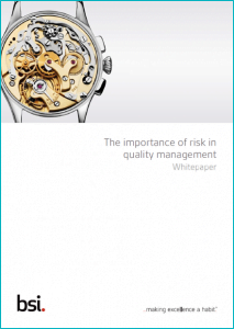 The importance of risk in Quality Management_Whitepaper