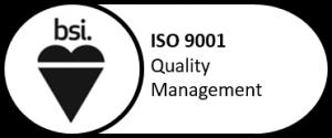 ISO 9001 vottað
