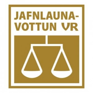 Jafnlaunavottun VR