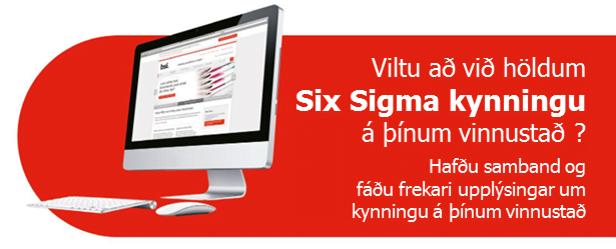 Six Sigma á þínum vinnustað